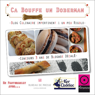 Logo concours Ca bouffe 3 ans